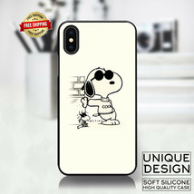 Cool Snoopy Peanuts Phone Case Samsung Galaxy S10 S9 Huawei iPhone Case ... - £8.26 GBP