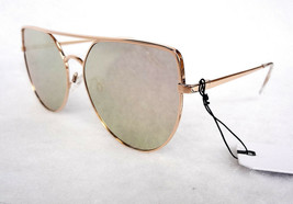 LEITH Women's Sunglasses LTFS0138MI Gold Metal - New! - $25.00