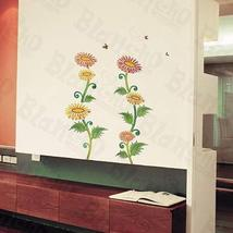Flourish Pile - Wall Decals Stickers Appliques Home Decor - $6.43
