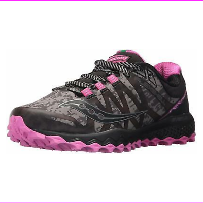 Primary image for Saucony Women's Peregrine 7 Runshield Running Shoes Black/Pink 8