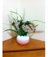 Silk Floral Arrangement Centerpiece/Artificial Easter Arrangement Decor/... - $35.00