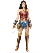 Wonder Woman Costume Super Costume for Halloween Cosplay Fancy Dress Red... - $159.00