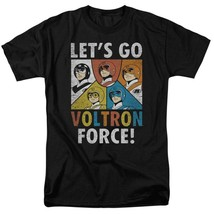 Voltron t-shirt Let's Go Voltron Force retro animation graphic tee DRM115B image 1