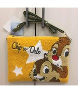 Disney Chip & Dale Saga Embroidery Shoulder Bag Pouch Pochette Case - $54.45