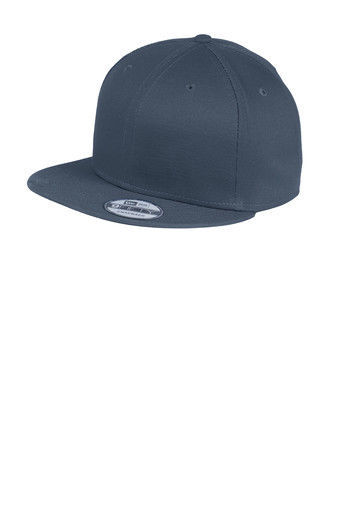 Primary image for New Era 9Fifty DEEP NAVY Flat Snapback Hat Cap Blank  9FIFTY ( NE400)(Deep Navy)