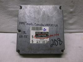 1999..99 COROLLA  1.8L AUTO/3 SPEED  ENGINE CONTROL MODULE/COMPUTER.ECU.... - $38.71