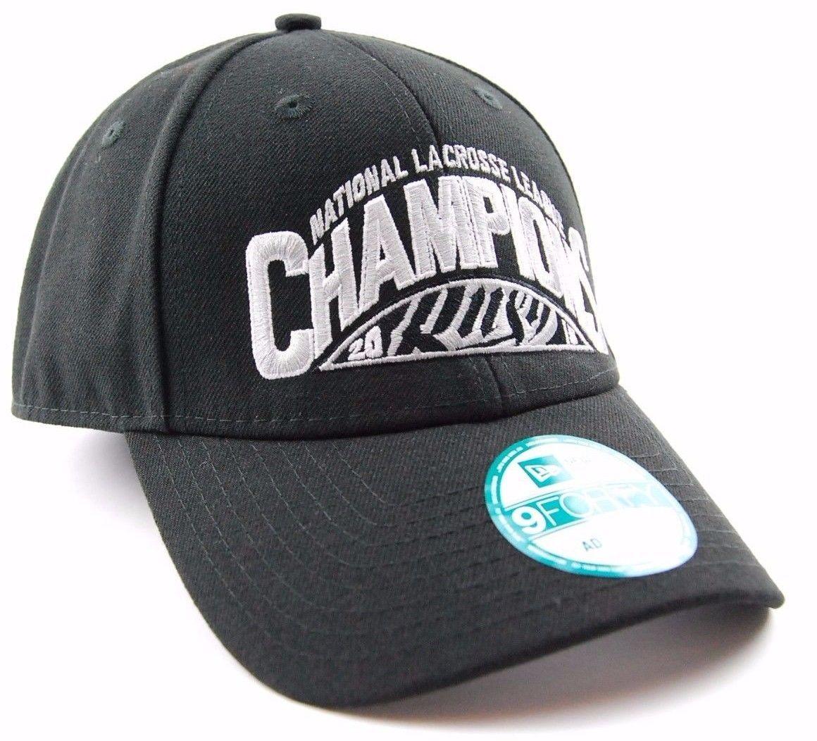 Saskatchewan Rush New Era 9FORTY 2015 NLL Champions Lacrosse Cap Hat  OSFM