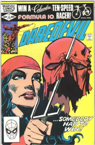 Daredevil Comic Book #179 Marvel Comics 1982 VERY FINE NEW UNREAD
