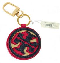 NIB Tory Burch Kerrington Applique 3 Piece Logo Key FOB, Multicolor - $79.00