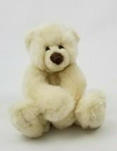 "Gund Schatzi 15021 Cream White Teddy Bear Plush Stuffed Toy Animal 6"" - $29.69"