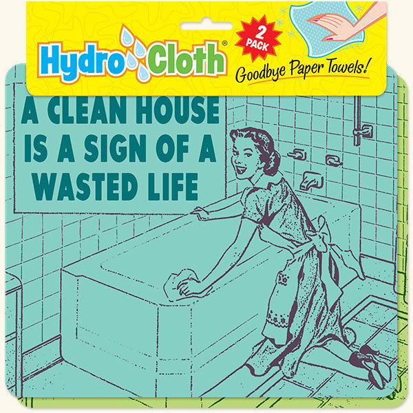 New Paper Towel Alternative Clean House Wasted Life Reusable Washable Hydrocloth