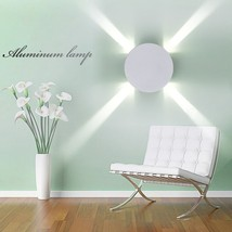 Modern Minimalist LED Aluminum Wall Lamp Bedside Mirror Light Creative A... - €38,18 EUR