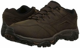 Merrell Mens Moab Adventure Stretch Hiking Wide Shoes Dark Earth - $99.00