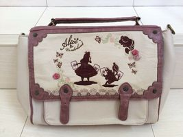Disney Cheshire Cat, White Rabbit, Alice in the wonderland shoulder bag.... - $49.99