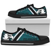 Philadelphia Eagles Fan Custom Shoes Converse Style Men Women Birthday Gift - $69.30
