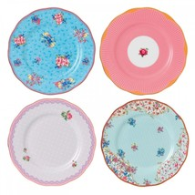 Royal Albert Candy Plates, Set of 4 NEW IN THE BOX - $84.14