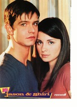 Jason Behr Freddie Prinze Jr. teen magazine pinup clipping together Roswell 16