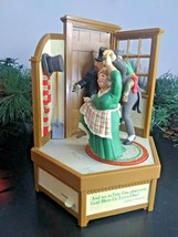 1985 Enesco The Christmas Carol Small World of Music Mechanical Musical Box - $88.15