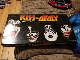 2003 Kiss-Opoly Board Game Kiss Band Rock & Roll Monopoly Memorabilia  - $29.69