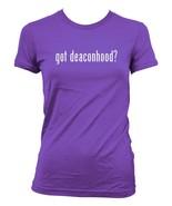 got deaconhood -  Ladies' Junior's Cut T-Shirt - $24.97