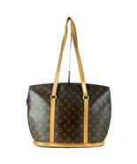 Auth Louis Vuitton Babylone Monogram Canvas & Leather M51102 Tote Should... - $345.51