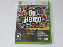 DJ Hero Microsoft Xbox 360, 2009 Xbox Live Start the Party video game T-... - $29.69