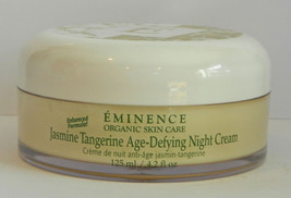 Eminence Jasmine Tangerine Age-Defying Night Cream 4.2 oz / 125 ml PRO Size - $74.79