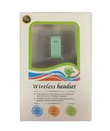 3G Bluetooth 3.0 Cuffie senza Fili Vivavoce Composizione Vocale Verde Blu - $6.92