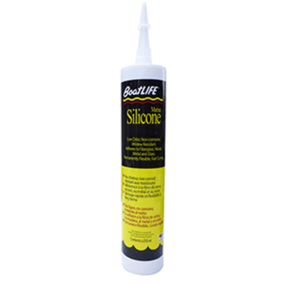 Primary image for BoatLIFE Silicone Rubber Sealant Cartridge - Black