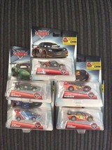 Disney Cars Carbon Racers Lot Of 5 - $35.03
