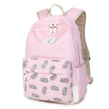 Samaz Lightweight Casual Canvas School Backpacks for Teen Girls - €27,41 EUR
