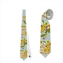 necktie simba nala lion king cute animator mini club - $22.00