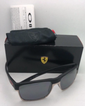 New OAKLEY Sunglasses Special Edition Scuderia Ferrari TWOFACE OO9189-20 Black