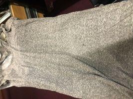 IRR Current Elliott Shirt Dress Ruffles The Cadence Scoop-Neck Heathered  *1 image 7