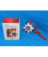 Hutschenreuther Christmas Star The Gospel Porcelain Ornament 2002 Ole Wi... - $8.90