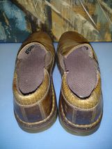 LEATHER Martens Plain BROWN Slip US size MEN Orson Dr Toe On Shoe LOAFER 12 8qfZ8dwp