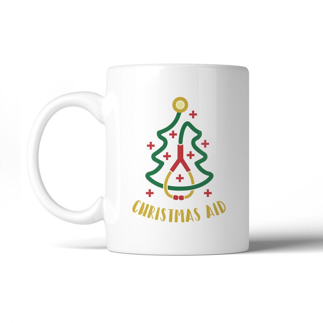 365 Printing Christmas Medical Tree Humorous WHITE Mug Holiday Gift