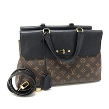 AUTHENTIC LOUIS VUITTON Monogram Venus Tote Bag 2WAY Bag Hand Bag Black ... - £1,757.95 GBP