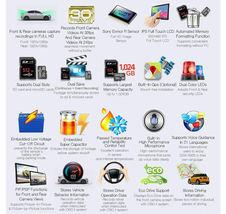 LUKAS QVIA R935 Plus 24GB or 40GB 2Ch FHD LCD Car Dash Camera Car Blackbox image 4
