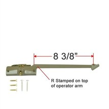 "Andersen Straight Arm Operator (Right Hand) with 8-3/8"" Arm Length in St... - $71.99"