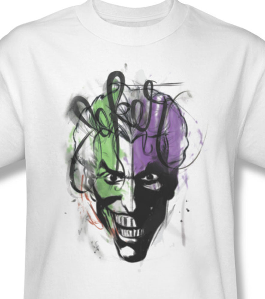 The joker dc comics batman gotham city wonder woman for sale online graphic tee bm1641 at
