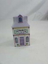 Vintage 1989 Lenox Spice Village Marjoram Porcelain Spice Jar W Lid 34617 - $17.81