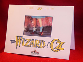 Invitation card for the 50th Anniversary Party of The Wizard of Oz film - $44.10