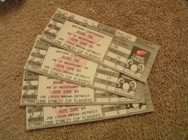 NHL Detroit Red Wings 1996 Stanley Cup Full Tickets & Stubs - $3.99