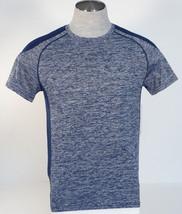 90 Degree By Reflex Cationic Navy Short Sleeve Athletic Shirt Mens NWT - $37.49