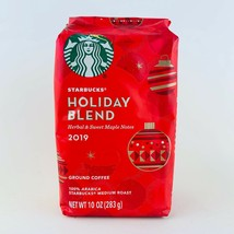 1 Bag Starbucks Holiday Blend 2019 Limited Edition Ground Coffee 11 oz New - $17.77