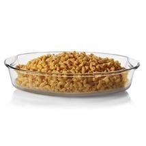 Libbey Baker's Basics Glass Oval Bake Dish, 4.3-quart - $22.34