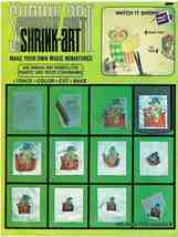 Vintage Shrink Art Make Your Own Magic Miniatures Crafts Book - $7.99