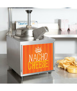 3.5 Qt. Electric Countertop Nacho Cheese Sauce Warmer Pump Dispenser - 120V - $309.99