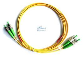 Optical SNS FC/APC Duplex Single Mode OS2 9/125 Patch Cord 25m(75ft) - $23.00
